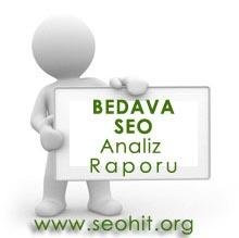 Ücretsiz SEO Analiz Raporu